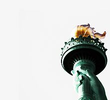 Lady Liberty's Flame by robyriker