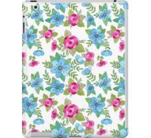 Blue Lilly Watercolor iPad Case/Skin