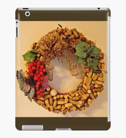 Cork Wreath iPad Case/Skin