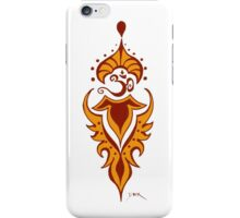 Transformation's Flame on White iPhone Case/Skin