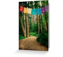 Aldermarsh Path Greeting Card