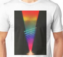 Waveforms Of Light Unisex T-Shirt