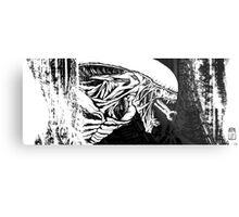 Alien Xenomorph 2 Metal Print