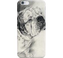 """Otis"" the English Bulldog iPhone Case/Skin"