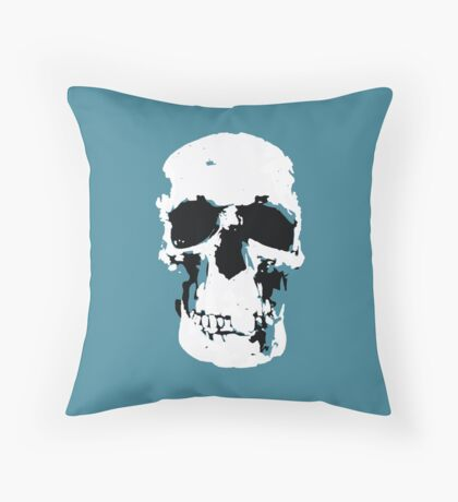 Sherlock Skull Wall Hanging Throw Pillow
