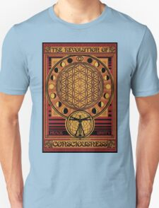 The Revolution of Consciousness | Vintage Propaganda Poster Unisex T-Shirt