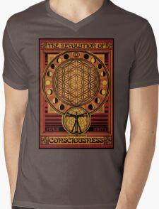 The Revolution of Consciousness | Vintage Propaganda Poster Mens V-Neck T-Shirt