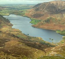 Crummock Water from High Stile by VoluntaryRanger