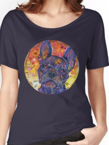 Watchdog (French bulldog) Women's Relaxed Fit T-Shirt