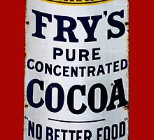 Fry's pure concentrated cocoa by Kawka