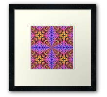 Inward Shift Framed Print
