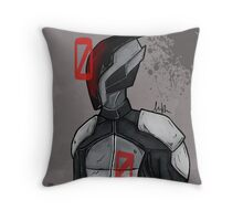 Zer0 Throw Pillow