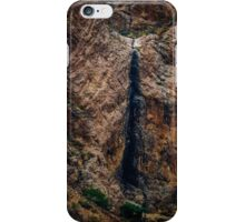 The dried waterfall iPhone Case/Skin