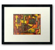 ABSTRACT 837 Framed Print
