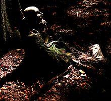 Spooky Bard by Tony  Glover