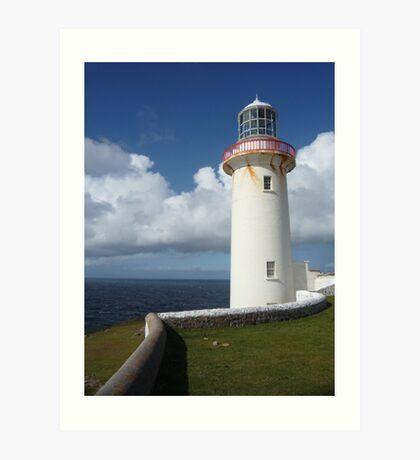 Arranmore lighthouse Art Print