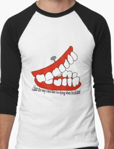 Teeth Men's Baseball ¾ T-Shirt