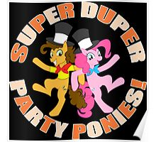Super Duper Party Ponies! Poster