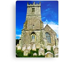 A Different View of All Saints Church.... Godshill Isle of Wight Metal Print