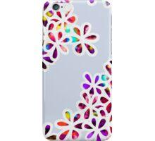 Multi-Colored Petal Flowers iPhone Case/Skin