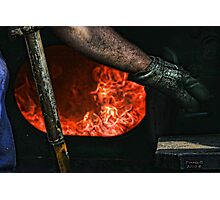 """"""" Fire Down Below """" Photographic Print"""