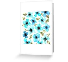 LILLY BLUE Greeting Card