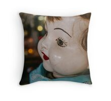 She is watching you Throw Pillow