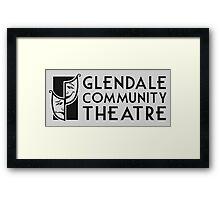 Glendale Community Theatre Framed Print
