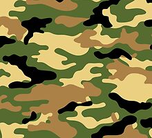 Camouflage (Green) by MrFaulbaum