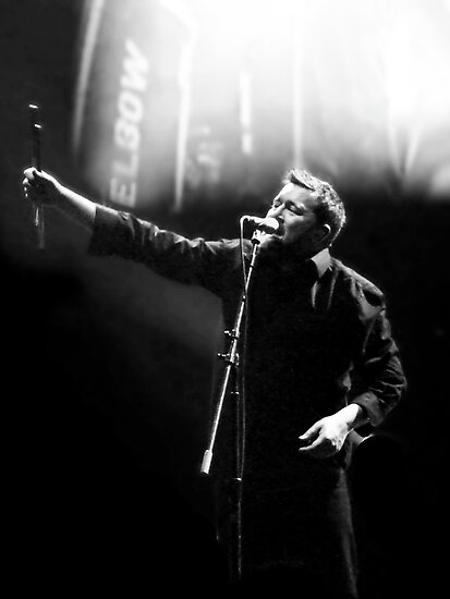 Elbow's Guy Garvey by max1210