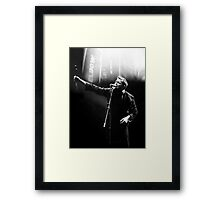 Elbow's Guy Garvey Framed Print