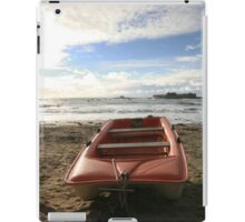 Boat at Fort Bloqué in Brittany - 2008 iPad Case/Skin