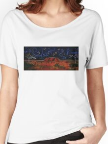 Uluru by Night Women's Relaxed Fit T-Shirt