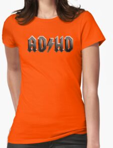 AD / HD Womens Fitted T-Shirt