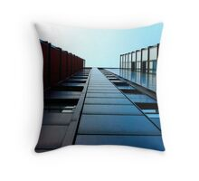 High Angled Appartment Shot Throw Pillow