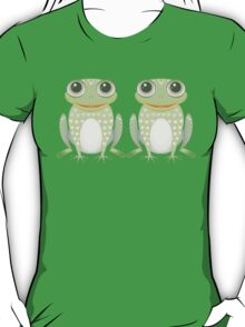 Happy Twin Frogs T-Shirt