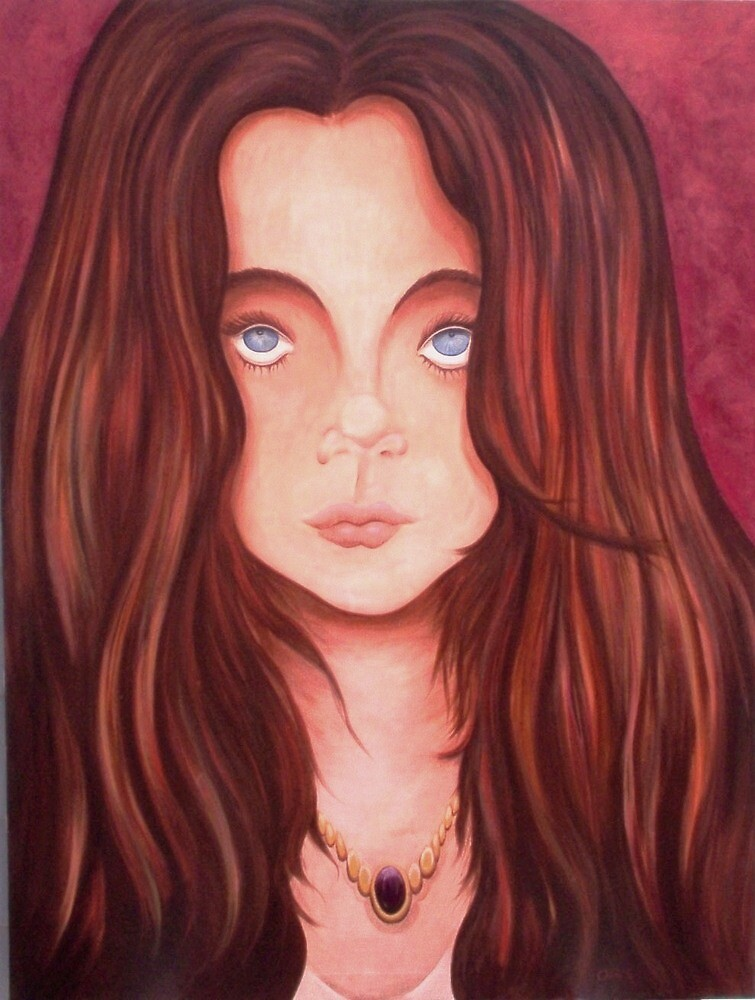 MY BLUE EYED GIRL by OrsiniArts