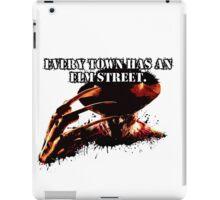 Every town has an Elm Street iPad Case/Skin
