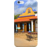 Mexican Vintage Restaurant in Acapulco iPhone Case/Skin
