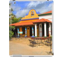 Mexican Vintage Restaurant in Acapulco iPad Case/Skin
