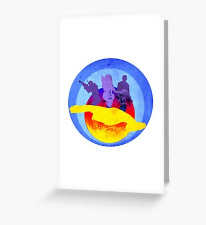 Space Bounty Hunters Greeting Card