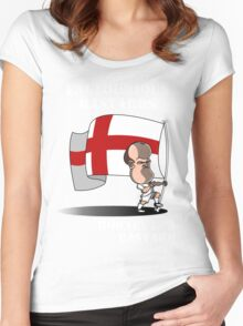 Englourious Bastards Women's Fitted Scoop T-Shirt