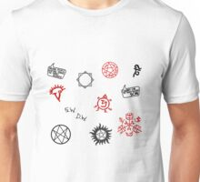 Supernatural Sigils and Symbols Unisex T-Shirt