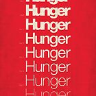 &#x27;Hunger&#x27; film poster by Viktor Hertz