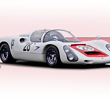 1967 Porsche 910 FIA Racecar by DaveKoontz