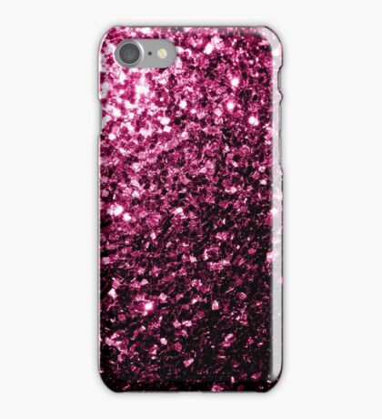 Beautiful Pink glitter sparkles iPhone Case/Skin