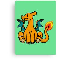 Charizard Chibi Canvas Print