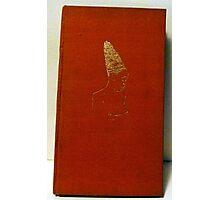 gilt cover antique book Photographic Print