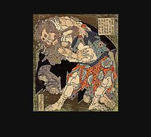 'Sumo Wrestlers' by Katsushika Hokusai (Reproduction) Unisex T-Shirt