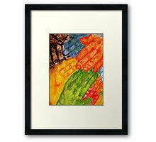 Helping hands  Framed Print